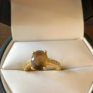 Premier Designs jewelry gold ring size 5